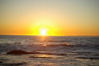sunset:ocean