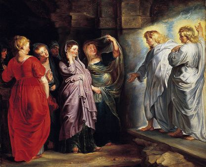 The Three Marys at the Tomb, by Rubens