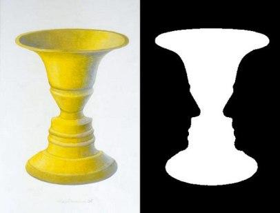 face or vase
